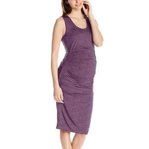 *HP*  Ingrid & Isabel Maternity Pleated Tank Dress